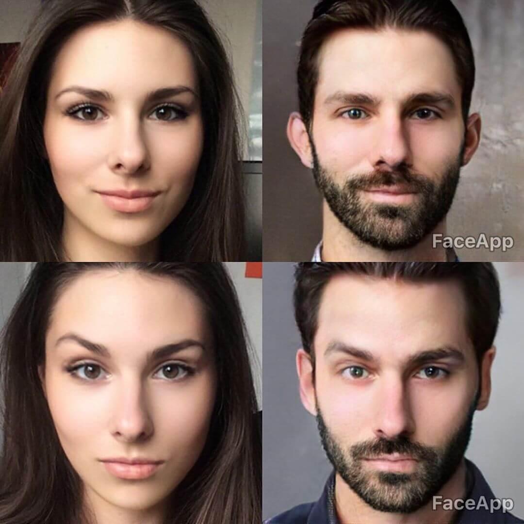 Aplikasi merubah wajah