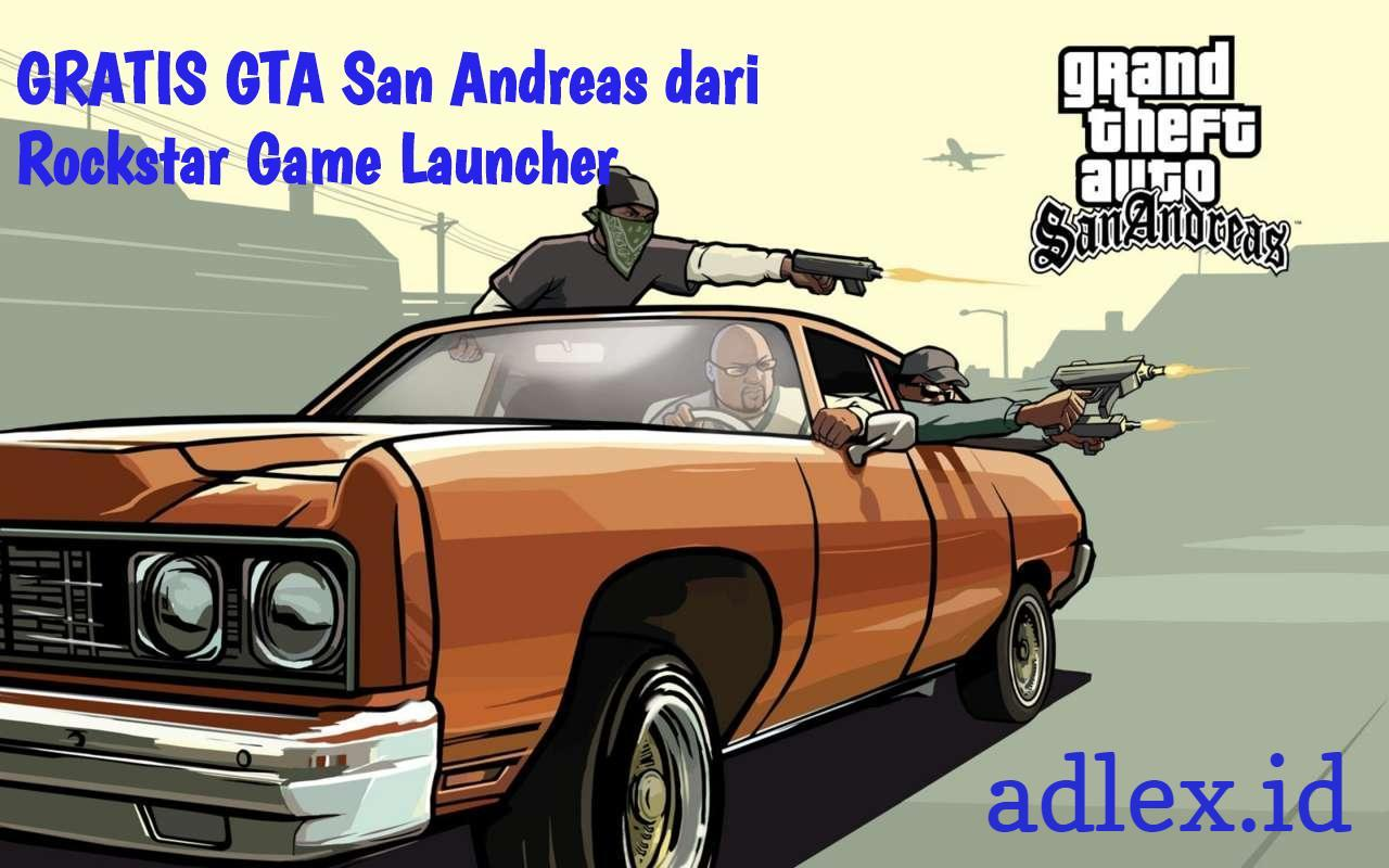 Rockstar Game Launcher GTA San Andreas gratis
