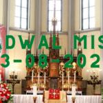 Link Live Streaming Misa Katolik Minggu 23 Agustus 2020