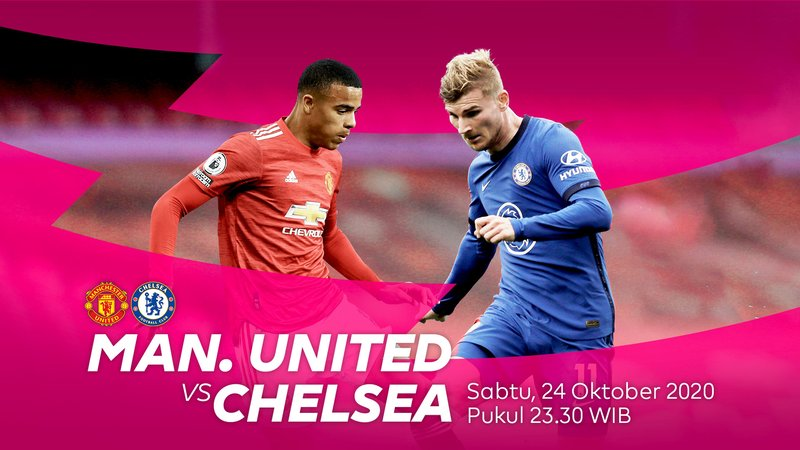 nk Live Streaming Manchester United VS Chelsea Liga Inggris