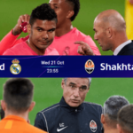 Link Live Streaming liga champions malam ini Real Madrid Vs Shakhtar Donetsk