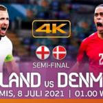 Link Live Streaming inggris vs denmark